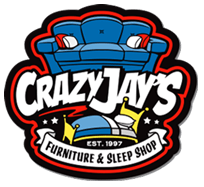 Crazy Jay's Furniture & Sleep Shop Logo